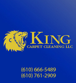 King carpet cleaning and Janitorial logo